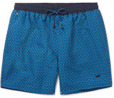 HUGO BOSS Piranha Mid-length Printed Swim Shorts - Blue