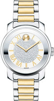 Movado 3600256 Bold stainless steel and yellow-gold watch