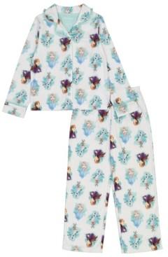 AME Frozen 2 Big Girls Coat 2 Piece Pajama Set