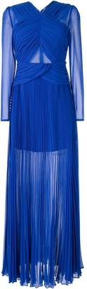 Self-Portrait cross front dress