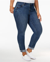 Style&Co. Style & Co Plus Size Boyfriend Jeans, Only at Macy's