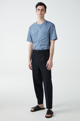 Cos Tapered Cotton Pants