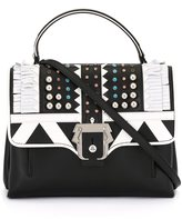 Paula Cademartori fringe embellished shoulder bag - women - Calf Leather/Suede/plastic/metal - One Size