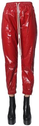 Rick Owens Wet Look Track Pants