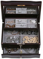 Mele Davina Locking Wooden Jewelry Box