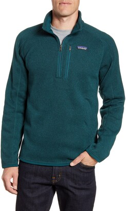 Patagonia Better Sweater(R) Quarter Zip Pullover
