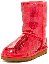UGG Classic Short Sparkle Genuine Shearling Boot