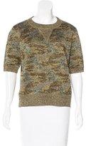 Isabel Marant Metallic Camo Sweater