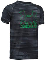 Under Armour Boys' Big Logo Hybrid Printed T-Shirt