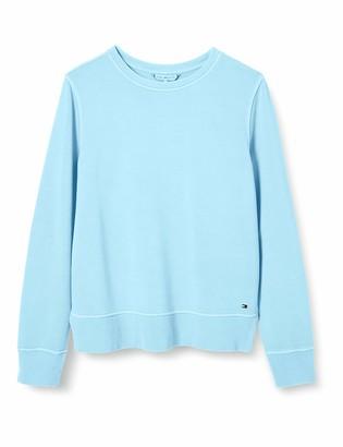 Tommy Hilfiger Women's Valera Slim Round-NK Sweatshirt T-Shirt