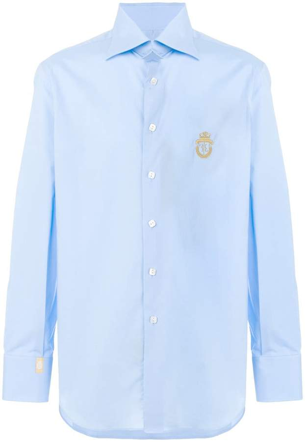 Billionaire embroidered shirt
