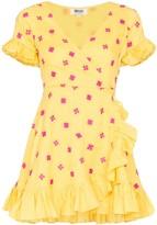 All Things Mochi Dory printed wrap dress