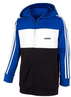 adidas Boy's Colorblock French Terry Jacket