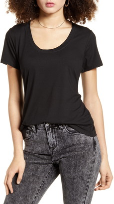 Socialite Scoop Neck Tee
