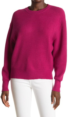 Lush Solid Dolman Pullover Sweater