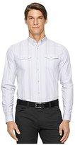 Calvin Klein Men's Gingham Multi Check Long Sleeve Woven Shirt