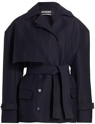 Jacquemus Carini Tie Waist Jacket