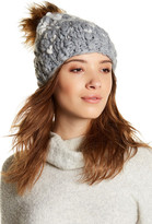 Joe Fresh Popcorn Faux Fur Pompom Hat