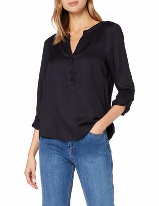 Street One Women's 342243 Einfarbige Bluse im Style Bamika Blouse