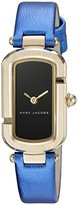 Marc Jacobs Women's The Jacobs Metallic Blue Leather Watch - MJ1501