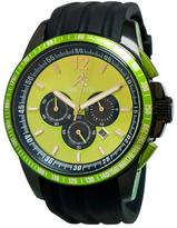Adee Kaye AK7141-GN Men's Artfully Watch