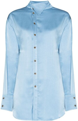 REJINA PYO Allie high-collar shirt