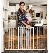 Regalo 58-Inch Extra WideSpan Walk Through Baby Gate, Pressure Mount with 3 Included Extension Kits by