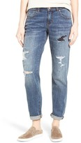 Women's Caslon Distressed Boyfriend Jeans