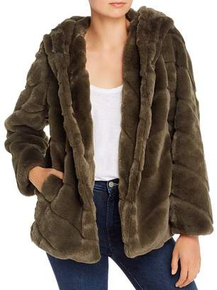 Apparis Genevieve Hooded Faux-Fur Coat - 100% Exclusive