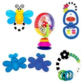 Sassy Baby's Basic Gift Set Eye and Hand Coordination Toy
