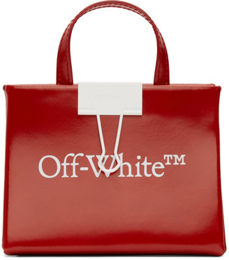 Off-White Red Baby Box Bag