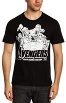 Logoshirt Logo Shirt Men's Marvel - Avengers - Heroes Loose Fit| Round Collar Short Sleeve Casual Shirt,20 (Manufacturer Size:)