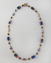 "Stephen Dweck Single-Strand Multi-Stone Necklace, 36""L"