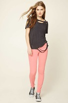 Forever 21 Skinny Mid-Rise Pants