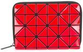 Bao Bao Issey Miyake geometric textured wallet - women - PVC - One Size