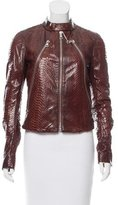 Maison Margiela Python Leather Jacket w/ Tags