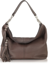 Buti Dark Brown Leather Shoulder Bag