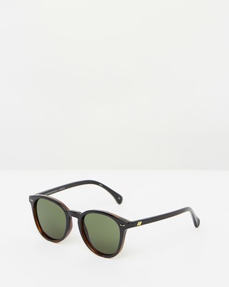 Le Specs Women's Black Round - Bandwagon - Size One Size at The Iconic