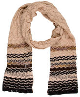 M Missoni Patterned Wool Scarf