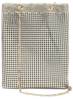 Paco Rabanne Pixel Chainmail Tote Bag - Light Gold