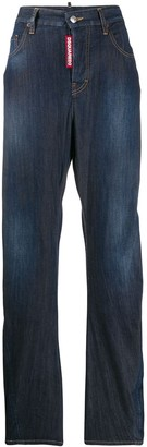 DSQUARED2 High-Rise Jeans