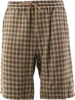 Undercover check shorts