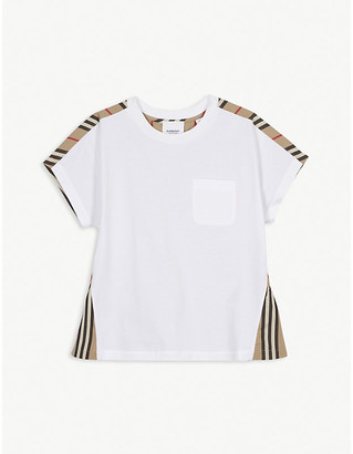 Burberry Delilah cotton T-shirt 3-14 years