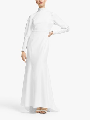 Y.A.S Patricia Maxi Dress, Star White