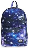 Loungefly Boy's 'Star Wars(TM) - Ship & Galaxy' Backpack - Black