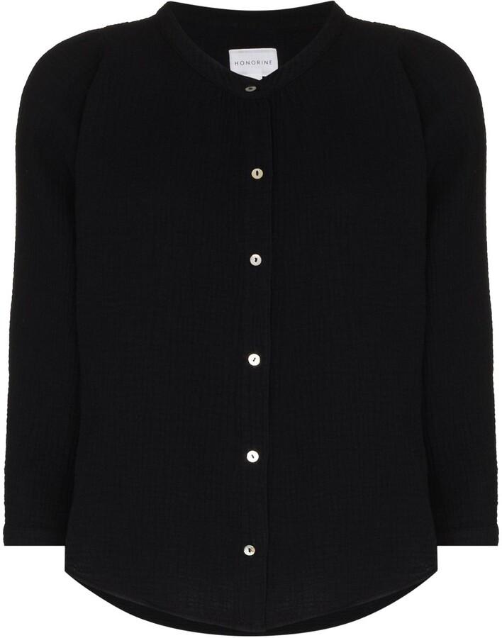 Thumbnail for your product : HONORINE Chloe three-quarter sleeve shirt