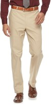 Apt. 9 Men's Slim-Fit Tan Stretch Flat-Front Suit Pants