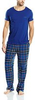 Bjorn Borg Men's Poison Checkered Pyjama Set