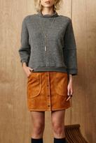 Greylin Grey Mohair Sweater