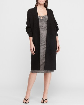 Express Ribbed Knit Cardigan